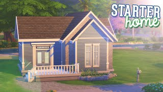 the sims 4 speed build   tiny starter home