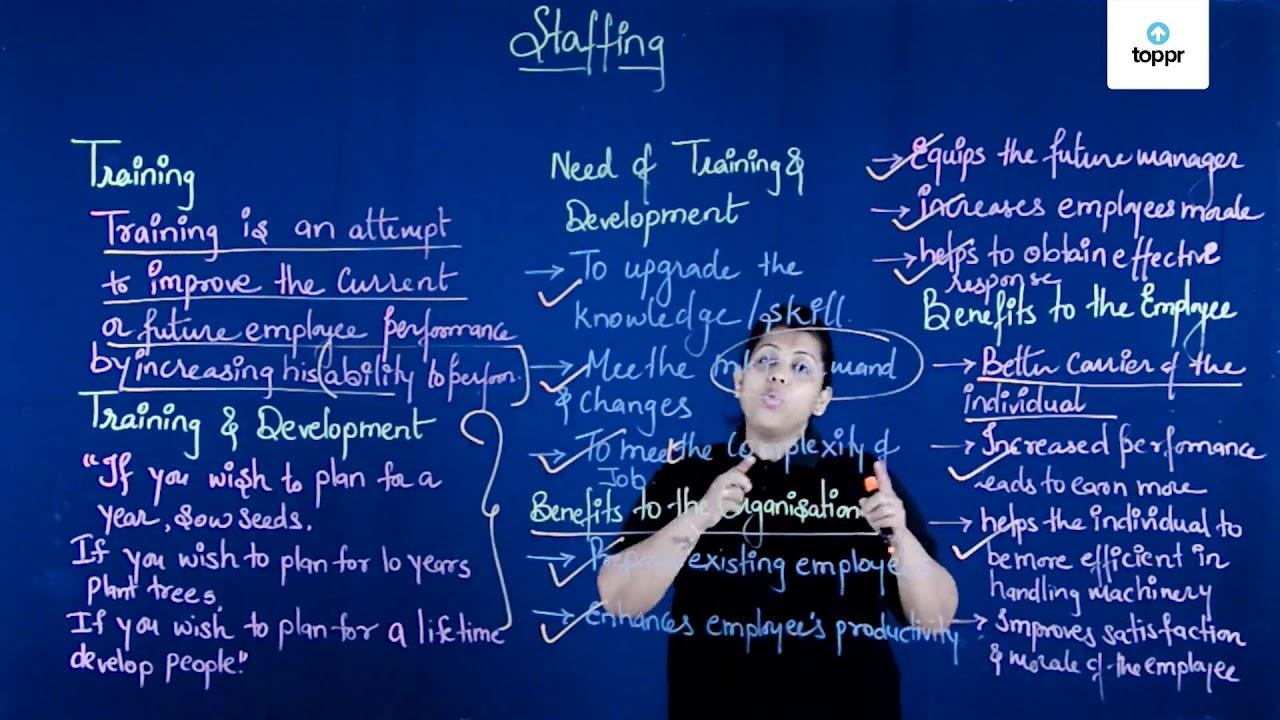Training and Development: Training Methods, Benefits of Training