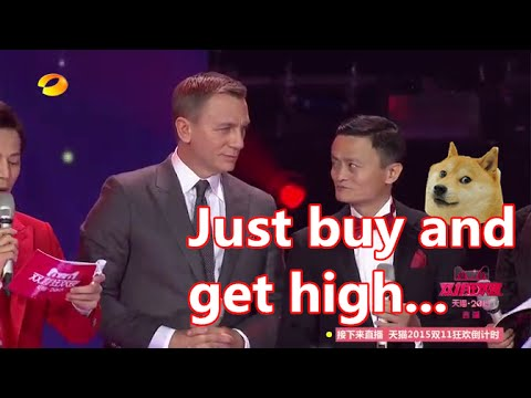 Spectre 007 Daniel Craig attends Alibaba Singles Day Shopping Festival|2015天猫双十一狂欢夜(007:幽灵党丹尼尔克雷格)