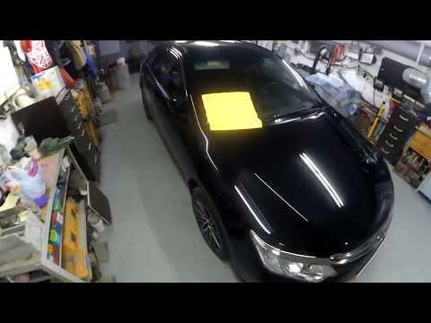 Полировка автомобиля чёрного цвета-подробно об особенностях и секретах ч 3