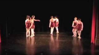 Intermediate Ballet performance at the Emma Willard Dance Assembly, January 2010