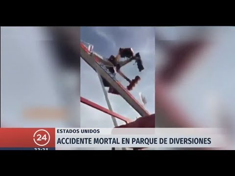 EE.UU: Accidente mortal en parque de diversiones de Ohio