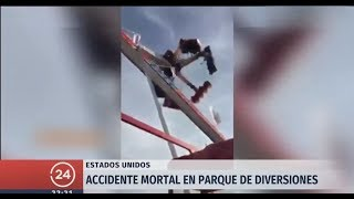 Download Lagu EE.UU: Accidente mortal en parque de diversiones de Ohio | 24 Horas TVN Chile mp3
