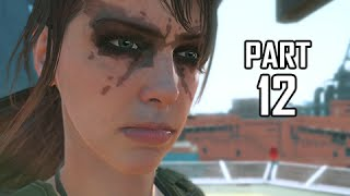 Metal Gear Solid 5 The Phantom Pain Walkthrough Part 12 - Not So Quiet ( MGS5 Let's Play)