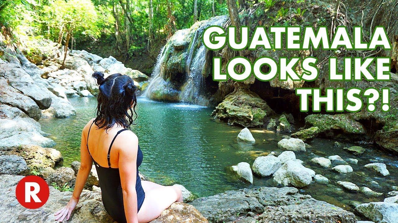 Exploring Guatemala's Jungle // Tiger Cave // Waterfalls & Hot Springs // Epic Jungle Adven
