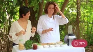 Recetas Saludables con la  Eco Chef Diana Pimentel. parte 1