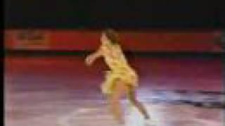 "Ekaterina Gordeeva ""Fragile"" in a summer dress"
