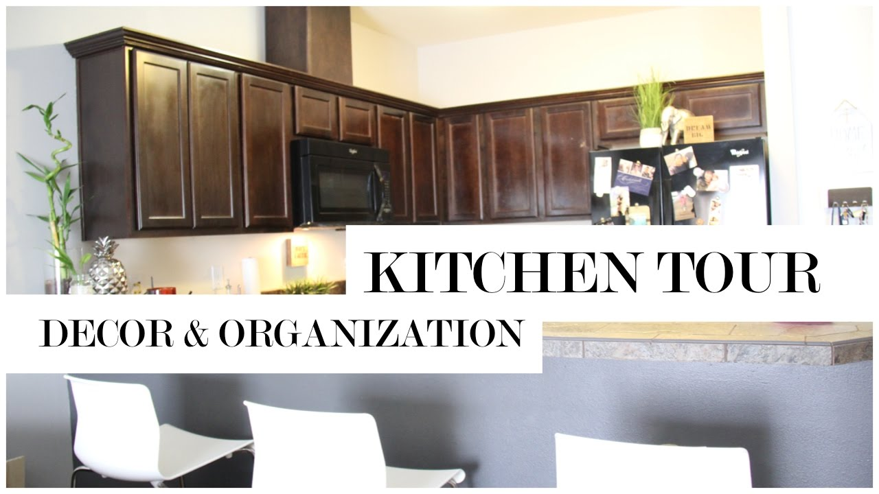 Kitchen and Pantry Organization   Budget Friendly Ideas Kitchen Tour ...