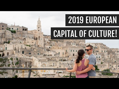 Matera, Italy: Exploring Caves In The 2019 European Capital Of Culture | Italy Days 4 &5