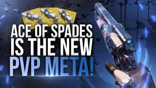 Destiny 2 : Ace of Spades PVP Exotic Hand Cannon Review! (GUIDE IN DESCRIPTION)