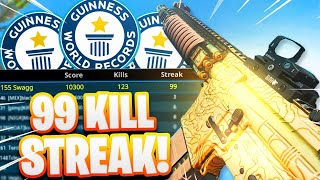 WORLD RECORD 99 KILLSTREAK Gameplay in Modern Warfare! (World's HIGHEST KILLSTREAK)