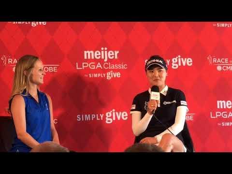 So Yeon Ryu beats heat, slump, field to win Meijer LPGA Classic