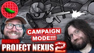 THE MAD STORY BEGINS! – Let's Play Madness: Project Nexus 2 (Beta Gameplay)