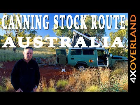 DISTANCE | WORLD'S LONGEST TRACK Ep-1. Canning Stock Route