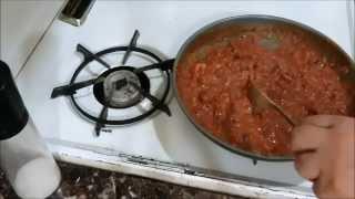 Фуль  с Помидорами и Острым Свежим Перцем Ful Fava Beans with Tomato, Garlic and Green Chili