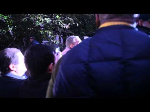 Chris Brown Leaving DC Court Arraignment