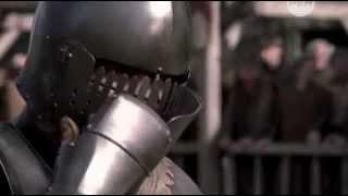 Средневековые рыцари.