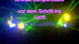 Lampenfieber-Karaoke