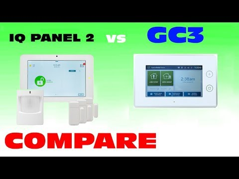 Qolsys IQ Panel 2 vs 2GIG GC3 Compare Features