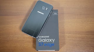 فتح علبة + استعراض | سامسونج جلاكسي اس ٧ إيدج | Samsung Galaxy s7 Edge Unboxing