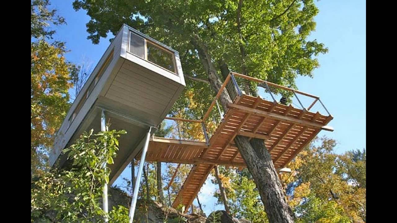 Great tree houses by Baumraum