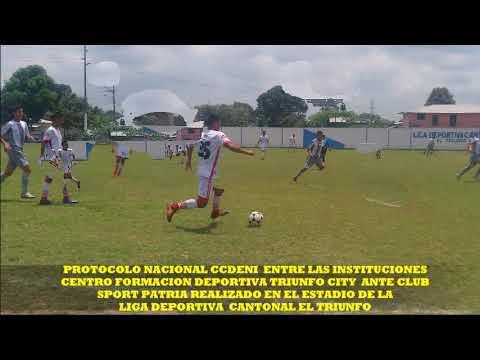 PROTOCOLO NACIONAL CCDENI ENTRE CLUB  SPORT PATRIA ANTE TRIUNFO CITY