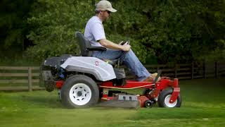 This is Exmark Comfort - Exmark Mowers
