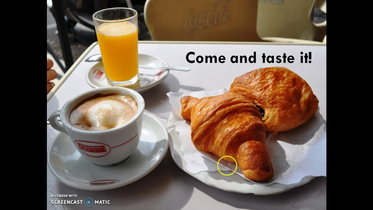 English In Italian: English Breakfast Vs Italian Breakfast