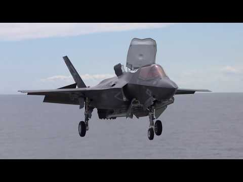 F-35B in action