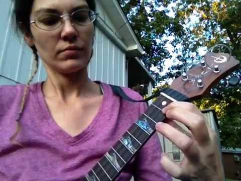 Practicing The Chord Progression For Amanda Palmers Ukulele Anthem