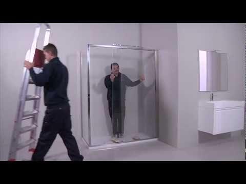 Box doccia Arbataxmove - Montaggio cabina doccia - Calibe - YouTube