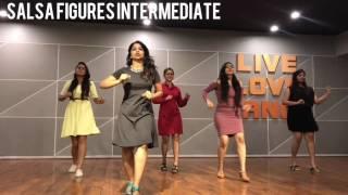 SALSA INTERMEDIATE/ ABERDEEN/ BASIC FIGURES/ RITU'S DANCE STUDIO SURAT