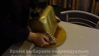 Ржаной хлеб на Монастырской закваске.wmv