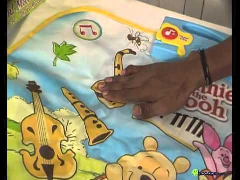playwell musical dance mat
