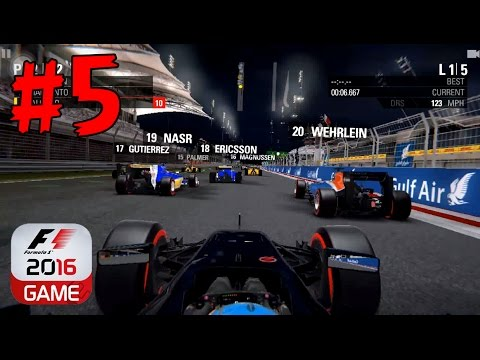 F1 2016 - SEASON - AUSTRALIA and BAHRAIN - iOS/Android Mobile Game Gameplay - EP5