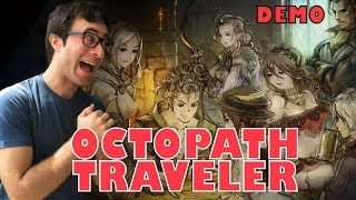 OCTOPATH TRAVELER   Introducción Primrose   DEMO Nintendo Switch   Gameplay ESPAÑOL