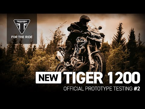 New Tiger 1200 - Official Prototype Testing #2