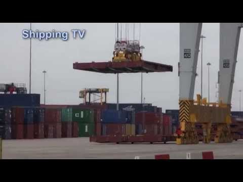 DP World Southampton - behind the scenes, part 1