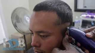 HOW TO CUT A BALD FADE ON STRAIGHT HAIR( HUNT DA B