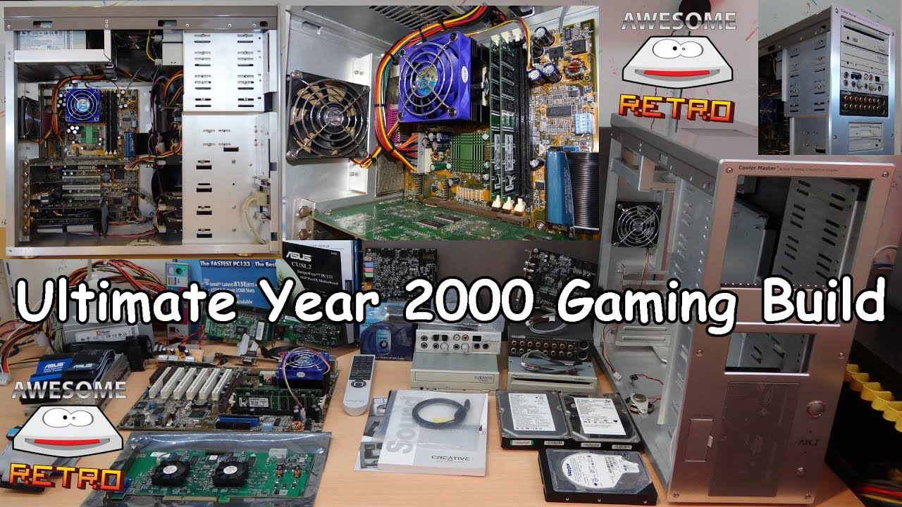 Ultimate Year 2000 Gaming Build 3dfx Voodoo5 Asus Cusl2