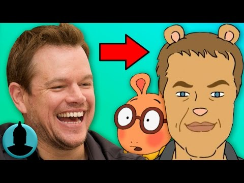 Matt Damon is a What?!?!  Tooned Up S3 E9