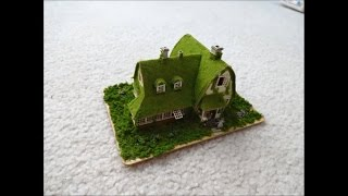 studio ghibli papercraft slideshow kiki's delivery service house