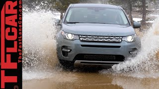 2015 Land Rover Discovery Sport Muddy Colorado Off-Road Review