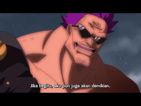 Luffy haki vs Z si tinju hitam sub indo