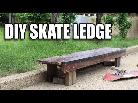 Building a DIY Skate Ledge