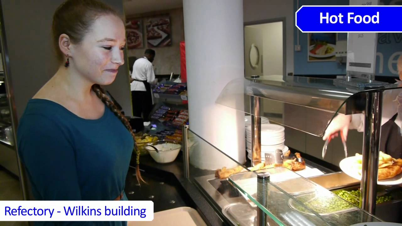 Food outlets - Chartwells at UCL - YouTube