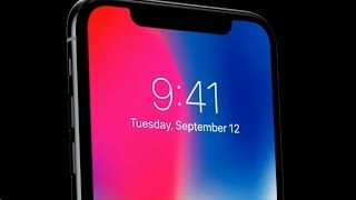This is the iPhone X