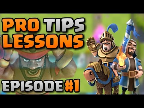 Pro Tips lesson with Jordan #1 of 8 l How to improve your game l Clash Royale