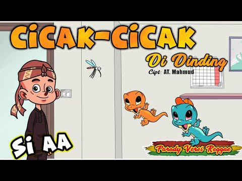Cicak-Cicak Di Dinding Reggae  (Video Animasi) L Cover LAGU ANAK INDONESIA