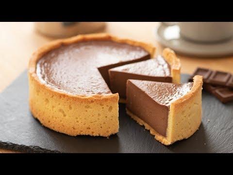 濃厚ベイクドチョコレートチーズタルトの作り方 Baked Chocolate Cheese Tart|HidaMari Cooking
